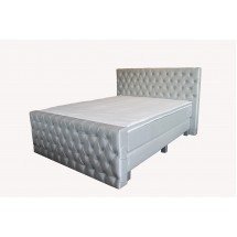 Boxspring de Lux with Chesterfield Head -and Footboard